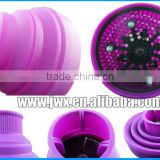 Purple silica diffuser foldable domestic hair care products