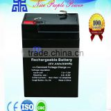 sealed maintenace free lead-acid 6v 2.5ah battery for electric bike motorcycle
