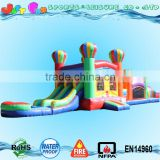 bounce house n double lane water slide inflatable obstacle, balloon obstacle course for sale                                                                                                         Supplier's Choice