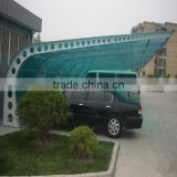 polycarbonate 3mm clear polycarbonate car parking shed with UV protected