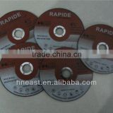 China manufacture abrasive sharp 4'' cutting wheel for metal, steel, iron