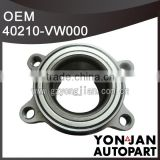 Front wheel hub bearing assembly 40210-VW000