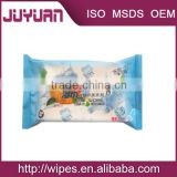 iso certificate OEM factory alcohol free facial cleaning sunscreen wipes