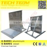 Aluminum Crowd Barrier for concert , exhibition event road safety crowd control barriers