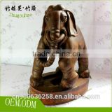 High grade gift for Chinese culture lovers carving of bamboo root