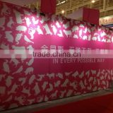 pvc,aluminum,fabric Material magnetic pop up display wall
