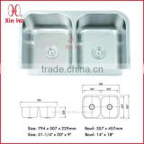 304 stainless steel sink strainer