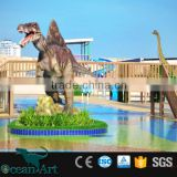 OAV7194 Highly Detailed Vivid Walking Animatronic Dinosaur Model