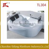 Made in China Factory Price Wholesales Free Standing Square Two People Massage Arylic Bathroom Bathtub