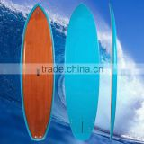 Wooden Stand Up Paddle Board with Paddle painting SUP Blue cheap paddle board High Quality