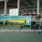 2500T-3000T horizontal gas fired aluminum melting furnace