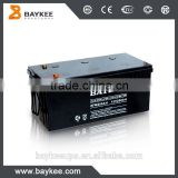 Baykee maintenance free lead acid 12V 200Ah UPS Battery                                                                         Quality Choice