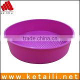 Precision silicone cake pan sets
