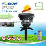 Widely use energy saving solar insect zapper/fly light trap