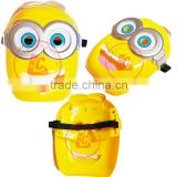 cheap halloween led mask cartoon face mask children's mask cool minions led facial mask