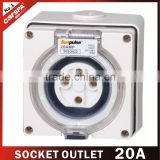32A high quality wall mounted power outlet socket