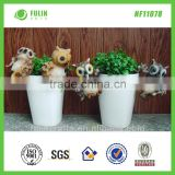 Small Size Animal Resin Eagle Plant Pot Hangers