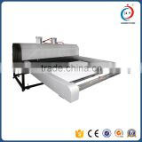 Automatic pneumatic double position fabric sublimation jersey heat press transfer printing machine