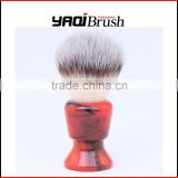 synthetic hair barber brush
