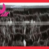 Wholesale factory cheap price color black Brazilian virgin remy human hair PU Skin weft double sided tape hair extensions