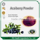 Bulk Free Sample GMP factory supplier Dried Acaiberry powder, Acai berry powder