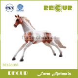 Recur Realistic gift 3d plastic animal horse toy/hot sale plastic horse toy