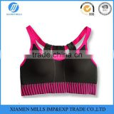 Womens Sexy yoga Bra, Dry Fit fitness Bra,wholesale sublimation sports wear fitness clothing with buckles