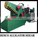 Q43 series hydraulic crocodile for cutting cooper scrap and steel scrap