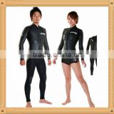 Full Sleeve with Legless Black Wetsuits for Women Plus Size