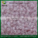 Natural Strawberry quartz pink bead crystal beads can send free sample