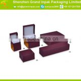 Hot sale cheap jewelry gift packaging box with custom logo for ring/earring/braclet/necklace