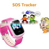 promotional novelty 2016 kids gps tracker smart watch, cell phone smartphones smart wrist watch for kids