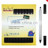shool double head water color pen color box set