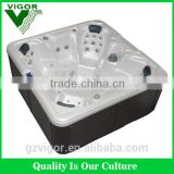 2016 Hot sales family sex acyclic massage hot tub JY8015 indoor/outdoor hot bathtubs Spa Pool