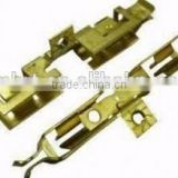 64 7002 brass sheet metal stamped parts thickness made by progressive die