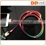 new products looking for distributor shoelace type C usb cable LED light charging cable for chargers