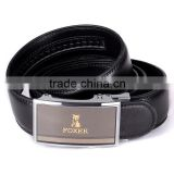 automatic buckle leather belt handcrafted leather belt custom leather belt