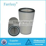 Gas turbine power plants pleated air filter cartridge,Furnace blast air station air intake filter cartridge