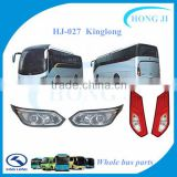HJ-027 led bus lights kinglong lighting rear tail lgihts and headlight