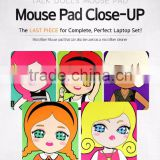 Mouse Pad Close-Up Microfiber Practical Cleaner Screen protector Multifunctional Anti-Slip