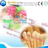 high efficiency and factory price Automatic Cotton Swab Making Machine With Drying function