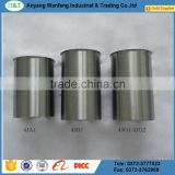 factory price 4JG1 steel chromed cylinder liner