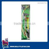 Weapon toys bow and arrow toys set,plastic bow and arrow toys set