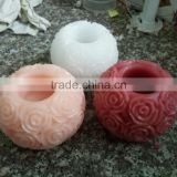 LED rose wedding candle flameless rose candle rose carved candle real wax candle real wax candle