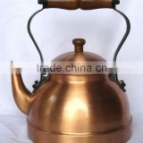 BPA free Solid Copper tea kettle for cafe & catering, water kettle, Brew kettle, Unique tea kettle, Portable tea kettle