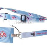 Custom printed polyester lanyards, satin ribbon lanyards, printed lanyards