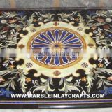 Inlay Marble Dining Table Top, Exclusive Marble Table Top