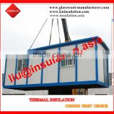 prefab tiny house convenient beautiful / glass wool