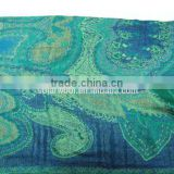 Factory Supply Digital Printing Comfortable New Style Lady Wool National Scarf