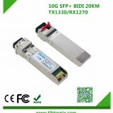 10Gb/s 20km BiDi SFP Transceiver  Modules for Huawei Cisco Hot Pluggable, Single LC, +3.3V,